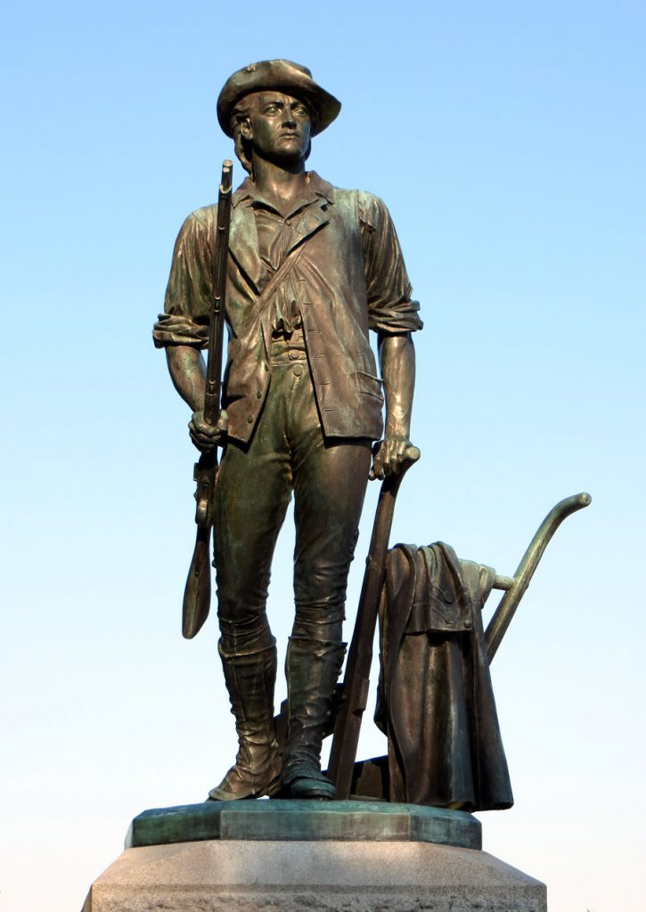 """The Minuteman,"" by Daniel Chester French"