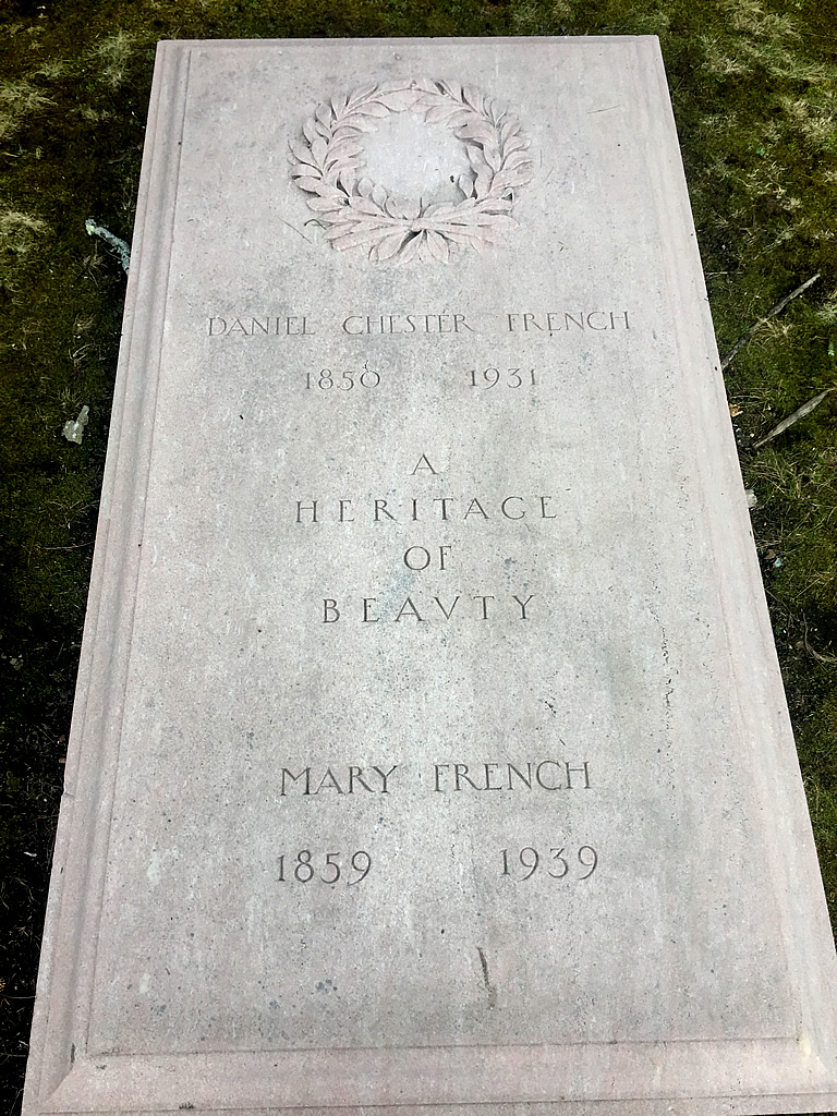Grave of Daniel Chester French