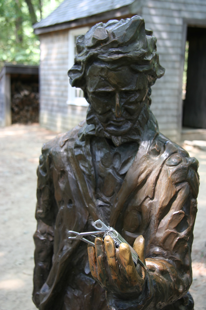 Henry David Thoreau Statue, Walden Pond