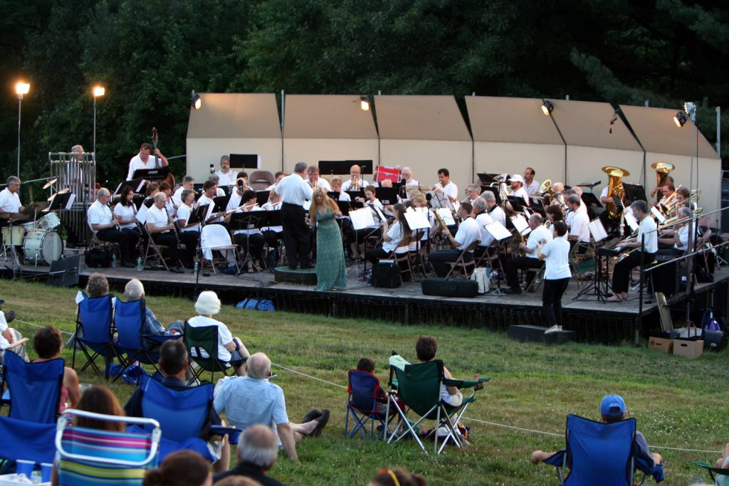 Concord Band summer concert