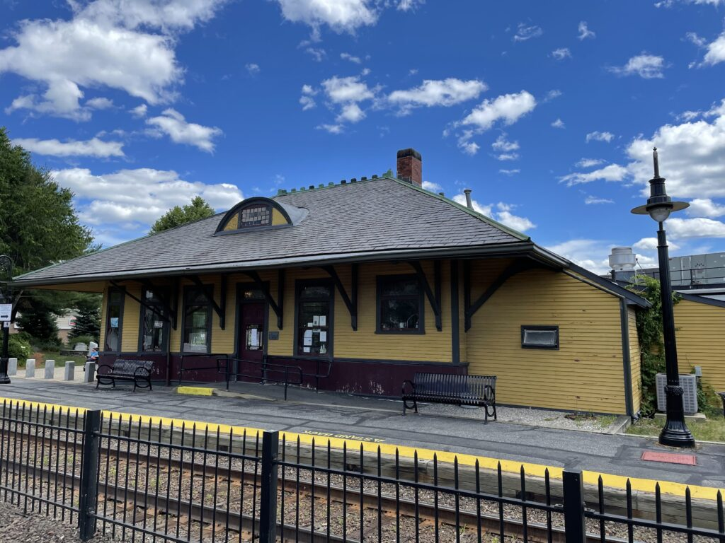 West Concord MA Depot (train station)